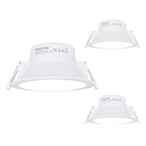 14W Focos Empotrables Lamparas de Techo Downlights LED Iluminación Cocina Baño Blanco...