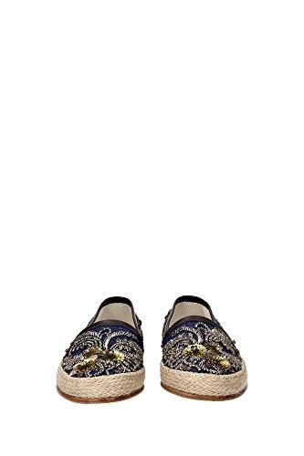 A50034AR6928L646 Dolce&Gabbana Pantoufle Homme Tissu Multicouleur Multicouleur