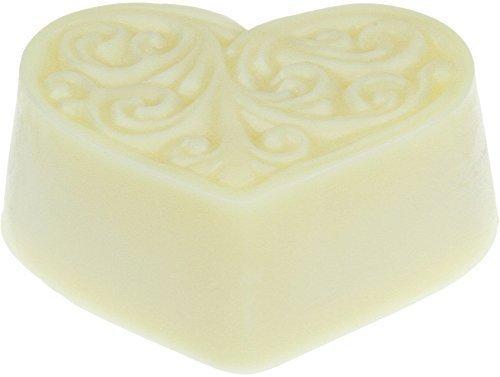 Greendoor Bodycremeherz Cocos, Body Butter 80g, reichhaltige Hautpflege mit BIO Kokos, BIO Sheabutter + BIO Kakaobutter, Bodymelt, Naturkosmetik, Geburtstags-Geschenk - Feste Creme