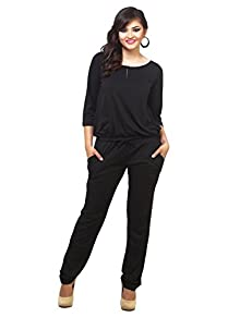 74ddb2d61f73 Women s Jumpsuit (1018ZH Black Small)