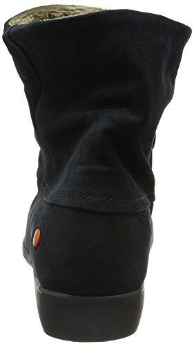 Softinos Damen Fon392sof Chukka Boots blau (marineblau)