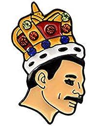Kimruida Chanteur Chef Broche De Bande Freddie Mercury Célèbre De La Mode  Casual Vêtements Décoration Cadeaux 0b5f85712c1