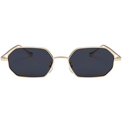 fuqiuwei Sonnenbrillen Einfache Und Vielseitige Temperament Polygon Sonnenbrille Quadratische Sonnenbrille