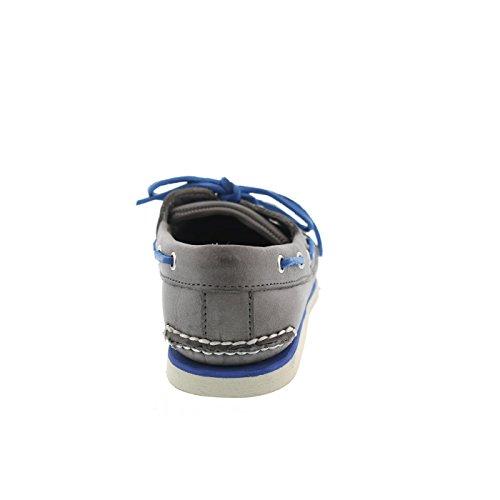 TIMBERLAND - Classic 2Eye - Herren Bootsschuhe - Grau Schuhe in Übergrößen, Größe:49 -