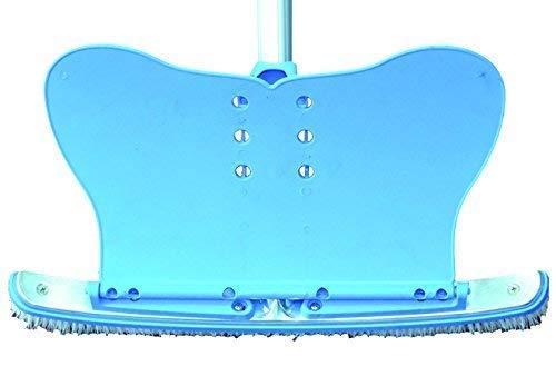 well2wellness® Poolbürste/Beckenbürste \'Kraftsegel\' mit Andruckplatte (Deflektor)