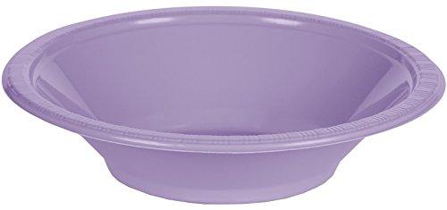 Unbekannt Creative Converting 2819305120Zählen Touch von Farbe Futternapf aus Kunststoff, 12oz, Luscious Lavendel
