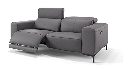 Ledersofa Relaxsofa Heimkino Sofa Funktionssofa Sofa Couch TV-Sessel