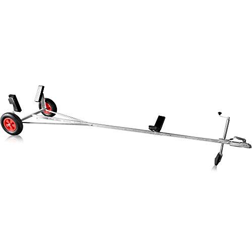 Bootstrailer Slipwagen Hafentrailer Bootswagen Bootsanhänger + Anhängerkupplung