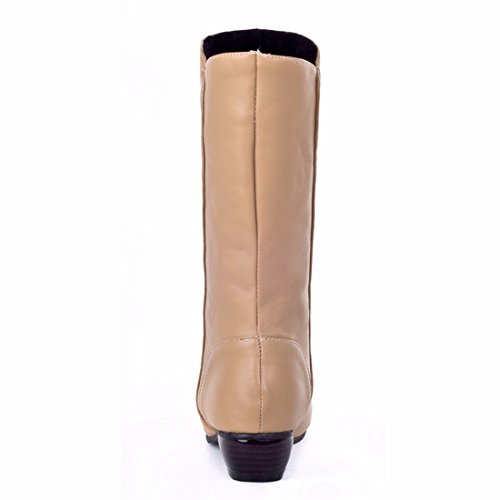 boots Biker Terry Yellow low and in tube with black Size boots head z1HBP