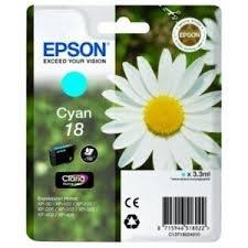 Epson T18024 - Cartucho de tinta para impresora, color cian