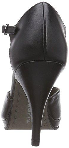 Tamaris 24428, Escarpins Femme Noir (black Matt 020)