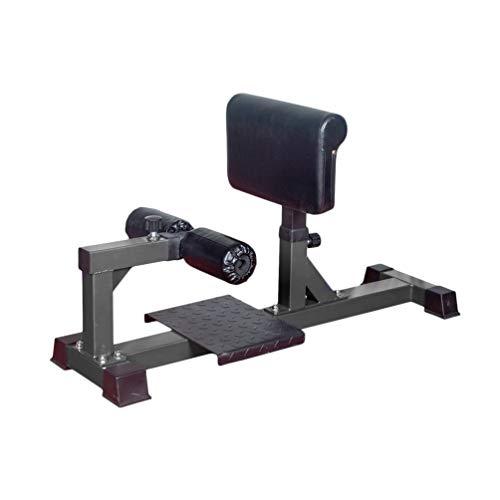 Kniebeugentrainer Sissy Squat Machine Beintrainer Superior Leg Extension Substitute 102 x 35 x 43-54cm, Schwarz,130 kg belastbar Superior Leg Extension Substitute