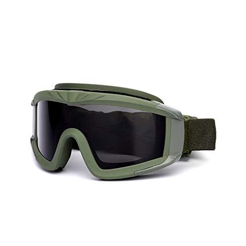 Abellale Schutzbrille CS Taktische Winddicht Sanddicht Militär Fan Brille Grün