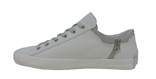 Crime London Sneaker Uomo Underground Zip White White