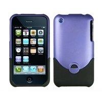 Logotrans Classic Series Hardcase lila und Displayschutzfolie für Apple iPhone 3G / 3Gs Iphone 3 Gs Dock