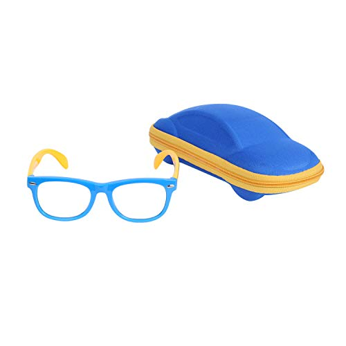 Kinder Blaulichtfilter Brille Computerbrille Gamingbrille Ohne Stärke UV Blockieren TR90 Rahmen...
