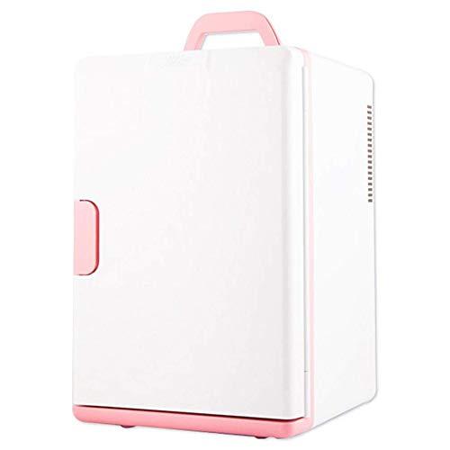 MUTANG Mini-Kühlschrank tragbare thermoelektrischen Kühler und wärmer Mini-Kühlschrank for Schlafzimmer, Büro oder Wohnheim -