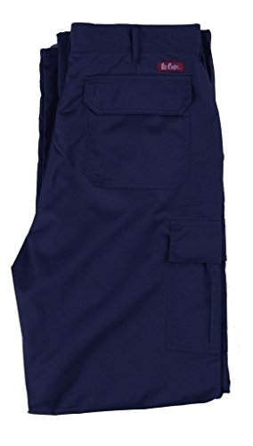 Lee Cooper LCPNT205 Cargo Pant - Arbeitshose (Blau, 40/34)