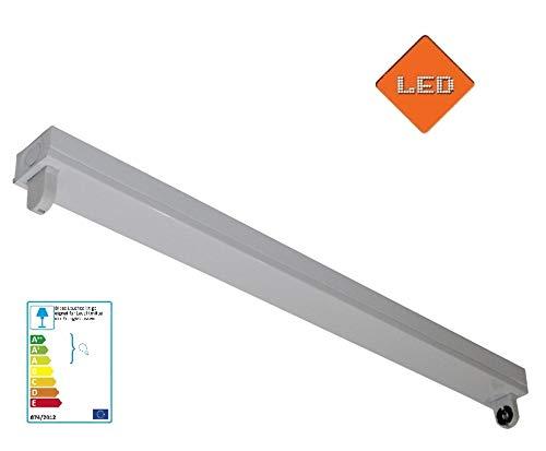 Fassung Halterung für LED Röhre 1x 120cm T8 G13 230V / Art. HRS-T2 / Deckenleuchte Lagerbeleuchtung Aufbauleuchte Röhrenleuchte
