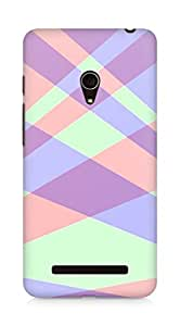 Amez designer printed 3d premium high quality back case cover for Asus Zenfone 5 (Line intersection background texture)