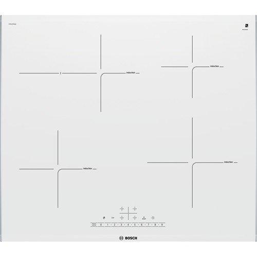 Bosch PIF672FB1E hobs Acero inoxidable, Blanco Integrado Con - Placa Acero inoxidable, Blanco, Integrado...