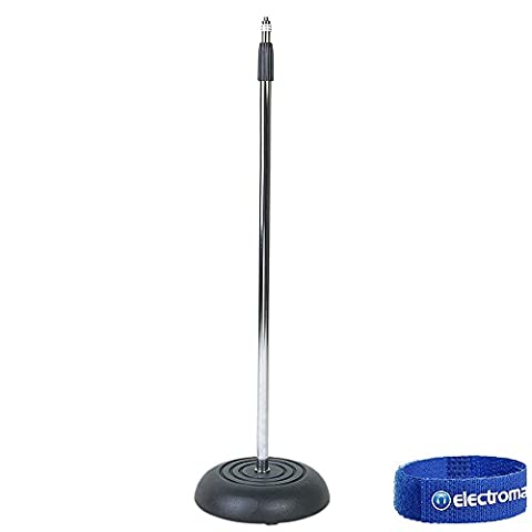 Soundlab P657A Microphone Stand with Round Base