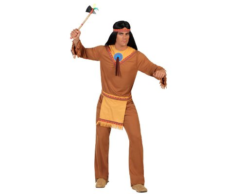 Imagen de atosa  disfraz de indio para hombre, talla m/l 18332