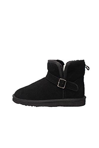 boots-femme-cuir-ugg-style-entierement-fourre-hiver-automne-bottes-ski-suede-41-noir