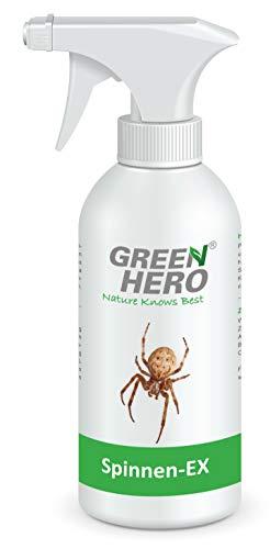 Green Hero Spinnen-Ex Spray gegen Spinnen, 500 ml, Fernhaltemittel, Repellent, Abwehrspray, Vertreibungsmittel