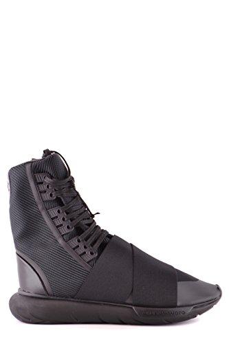 adidas Y-3 Yohji Yamamoto Hi Top Sneakers Uomo Bb4802coreblack Poliestere  Nero f58c3f9b857f