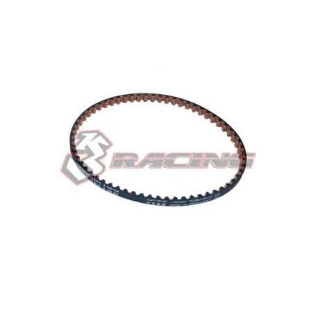 3Racing RC Model SAK-D4837 S3M186 Belt for SAKURA D4(Rear)
