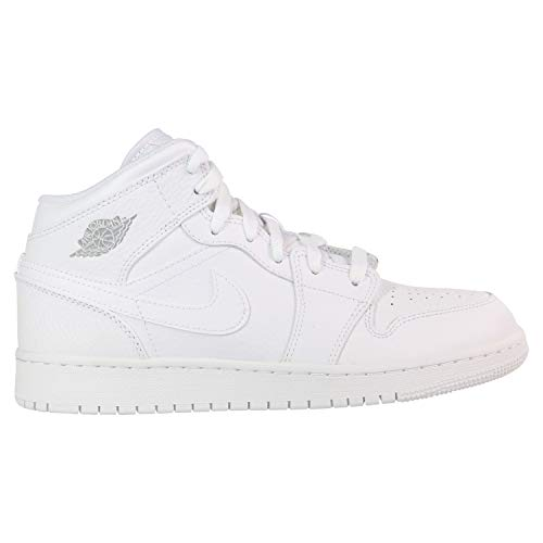huge selection of d7a8b a4d30 Nike Air Jordan 1 Mid (GS), Scarpe da Basket Bambino, Mehrfarbig Pure