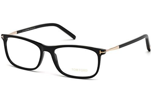 Preisvergleich Produktbild Tom Ford - FT 5398,  Rechteckig,  allgemein,  Herrenbrillen,  SHINY BLACK(001)