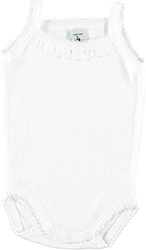 babidu Unisex Baby Taufbekleidung 1145 Body (weiß 1), 86 cm (Herstellergröße:18)
