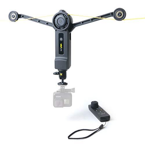 Wiral LITE Cable Cam System Sistema portatile per telecamere corda videocamere dinamiche Action Cams fotocamere reflex e videocamere fino 1 5 kg