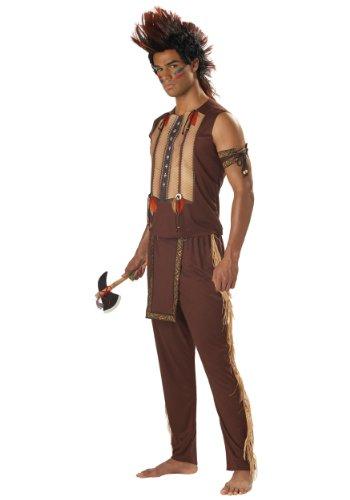 California Costumes Indianer Häuptling Kostüm Herren L (42/44) (Indianer Krieger Kostüme Für Erwachsene)