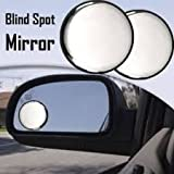 #3: Car Decorators- Car Safety MIRROR [ Blind Spot ] -self Stick + WarantY (mirror_)
