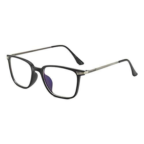MUCHAO Blaulichtblockierung Computer-Brille Quadratische Brillen Transparente Linse Männer Frauen