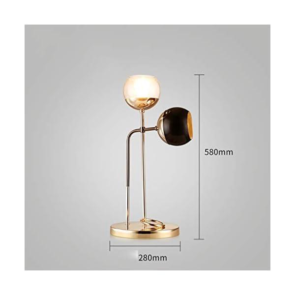 Lampada da Tavolo Camera da Letto Comodino Soggiorno Lampada da Tavolo  Lampada da Tavolo Decorativa Minimalista Moderna Comoda e Mobile (Color :  ...