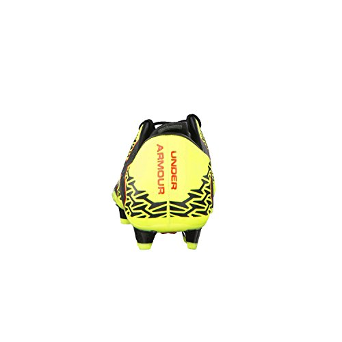 Under Armour Force 2.0 FG HIGH-VIS YELLOW/ROCKET RED/BLACK