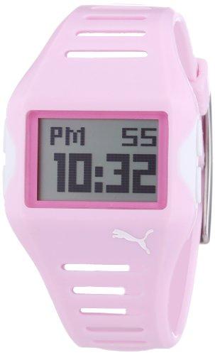 Puma 4404777 - Reloj de mujer de cuarzo, correa de resina color rosa
