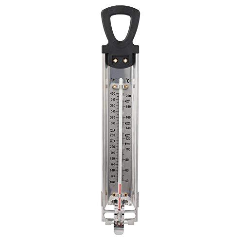 Süßigkeitenthermometer Fry/Marmelade/Zucker/Sirup/Gelee Thermometer Fahrenheit Celsius °F/°C Doppelskala Display Haushalt Küche Hängen