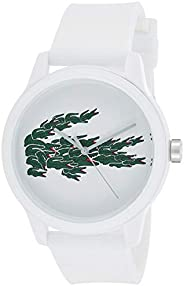 Lacoste Mens Quartz Watch, Analog Display and Silicone Strap 2011039