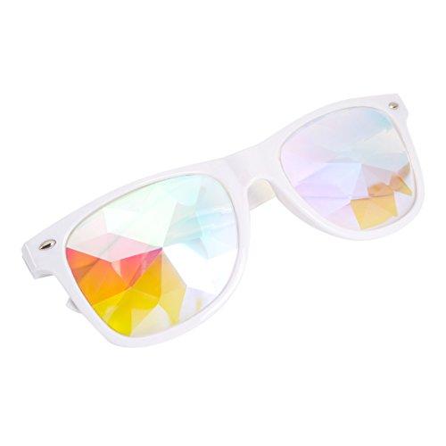 AFUT Kaleidoskop Goggles Regenbogen Brille Prisma Sonnenbrille für Cosplay