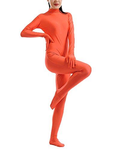 Kostüme Ideen Xxl (Second Skin Kostüm in zkörperanzug Bühnenaufführung Kostüm Orange)