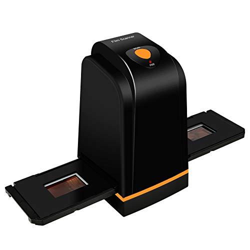 Hochauflösender 35mm Filmscanner konvertiert Negativ Dia & Film zu Digital Photo, Unterstützt Windows XP/Vista / 7/8/10 (Nicht MAC)
