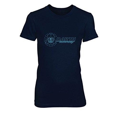 Darth Industries - Damen T-Shirt, Größe: XL, dunkelblau