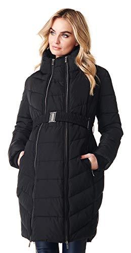 Noppies Damen Umstands Jacke Jacket Winterjacke (36 (Herstellergröße: S), schwarz (Black))