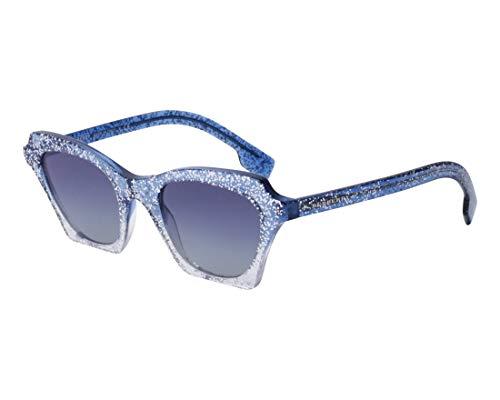 BURBERRY Sonnenbrillen (BE-4283 37724L) kristall blau - glitzer silber - blau-grau verlaufend