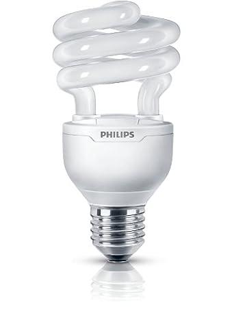 Philips Tornado E27 2700 K Compact Fluorescent Dimmable Energy Saving Light Bulb, 20 W (88 W) - Warm
